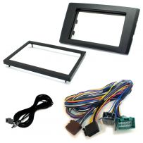 CTKVL02 Car Stereo Double Din Fascia Panel Fitting Kit For Volvo XC90 (2001-14)