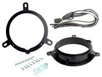 CT25VL03 165mm Front and Rear Door Speaker Adaptor for Volvo C30, S40, S60, S80, S40, V50, V60, V70, XC60, XC70