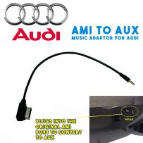 AMI to Aux Interface Adaptor Lead Music Cable for Audi 09> with AMI Port