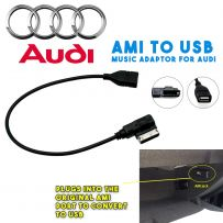 AMI to USB Interface Adaptor Lead Music Cable for Audi 09> with AMI Port