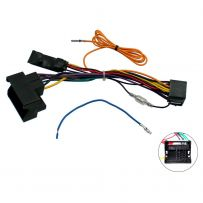 VW Volkswagen CANBus Interface Car Stereo ISO Lead with 12v Ignition Feed