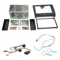 Audi TT Double Din Facia Panel Adaptor Car Stereo Fitting Kit + Steering Control