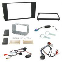 Audi A6 Double Din Steering Wheel Stalk Interface Car Stereo Fascia Fitting Kit