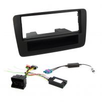 Audi A1 2011-15 Single Din Fascia Panel Steering Control Car Stereo Fitting Kit