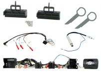 CTKAU17 Audi A3, A4, A5, A6 Non Amplified Complete Single Din Installation Kit