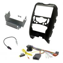 BMW Mini R56 Double Din Car Stereo Fascia Panel Fitting Kit + Steering Controls