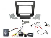 CTKBM26 BMW 1 Series (2007 - 2013) Double Din fascia Car Stereo Complete Installation Fitting Kit