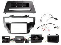 CTKBM33 BMW X5, X6 Non Amplified Double Din Car CD Stereo Fascia Complete Installation Fitting Kit