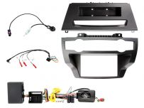 CTKBM34 BMW X5, X6 Amplified Double Din Car CD Stereo Fascia Complete Installation Fitting Kit