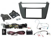 CTKBM35 BMW 1, 2 Series Double Din Car CD Stereo Fascia Complete Installation Fitting Kit