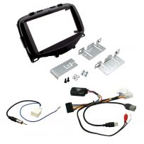 Citroen C1 2014-15 Double Din Radio Car Fascia Fitting Kit w/ Steering Controls