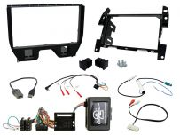 CTKCT04 Citroen C3, DS3 Double Din Car Stereo Fascia Complete Installation Fitting Kit