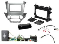 CTKCV10 Chevrolet Tahoe, Suburban,  Double Din Facia Car Installation Kit