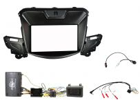 CTKCV18 Chevrolet SS Black Double DIN fascia adapter, Car Stereo Fitting Kit
