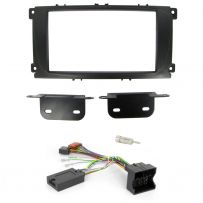 Ford Double Din Facia Panel Car Stereo Fitting Kit w/ Steering Control Interface