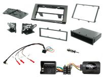 CTKFD89 Double Din Car Stereo Fascia Fitting Kit for Ford Vehicles 2003 -2013
