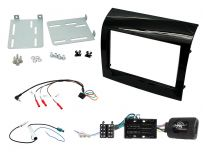 CTKFT14 Fiat Ducato Double Din Stereo Fascia, Steering Control and Aerial Kit