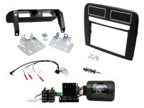 CTKFT15L Fiat Grande Punto Black Double Din Stereo Fascia Fitting, Left Hand Drive Vehicles Only