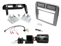Fiat Grande Punto Grey Double Din Stereo Fascia Fitting, Left Hand Drive Vehicles Only