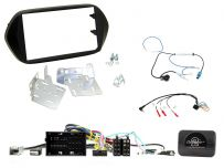 CTKFT17 Fiat Tipo Double Din Car Stereo Fascia Complete Installation Fitting Kit