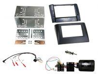 CTKFT18 FiatStilo Double Din Fascia Panel Fitting Kit + Steering Control Interface