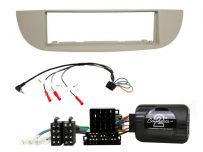 CTKFT26 Single Din Car Stereo Fascia Fitting Kit for Fiat 500 Type 312 (2007 - 2015)