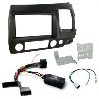 CTKHD02 Honda Civic Hybrid 06-11 Car Stereo Fascia Fitting Kit + Steering Wheel Controls