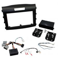 Honda CR-V 12-15 Double Din Car Stereo Facia Fitting Kit + Steering Controls
