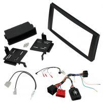 Hyundai Santa Fe 06-12 Double Din Car Stereo Fascia Adaptor Panel Fitting Kit
