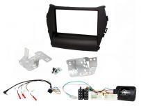 CTKHY07 Hyundai Santa-Fe Black Double Din Car Stereo Fascia Fitting Kit