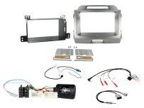 CTKKI13 Kia Sportage Non Amplified Light Grey Double Din Stereo Fascia Fitting Kit