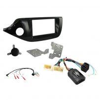 CTKKI30 Kia Ceed , Pro Ceed Piano Black Double Din Car Stereo Fascia Fitting Kit