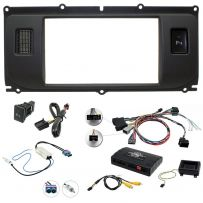 Range Rover Evoque Double Din Facia Steering Control Car Stereo Fitting Kit