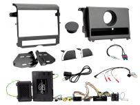 CTKLR10 Land Rover Discovery Double Din Car Stereo Fascia Complete Installation Fitting Kit (with basic display)