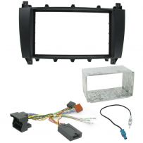 Mercedes C Class W203 Double Din Fascia Steering Controls Car Stereo Fitting Kit