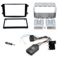 Mercedes C Class W203 Double Din Fascia Panel Adaptor Car Stereo Fitting Kit