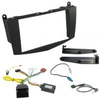 Mercedes C Class W204 Double Din Facia Steering Controls Car Stereo Fitting Kit