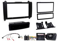 CTKMB18 Mercedes Sprinter Double Din Car Stereo Fascia Complete Installation Fitting Kit