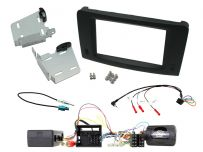 Mercedes ML (2005-2011) Double Din Car Stereo Fascia Complete Installation Fitting Kit