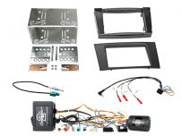 CTKMB23 Mercedes E Class 2002-2009 Double Din Car Stereo Fascia Complete Installation Fitting Kit