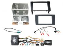 CTKMB24 Mercedes SLK R171 (2004 - 2010) Double Din Car Stereo Fascia Complete Installation Fitting Kit