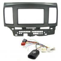 Mitsubishi Lancer Double Din Fascia Car Stereo Fitting Kit - Amplified Systems