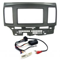 Mitsubishi Lancer Double Din Fascia Steering Controls Car Stereo Fitting Kit