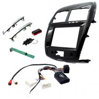 CTKMT10 Double Din Fascia Panel with Steering Controls Car Stereo Fitting Kit