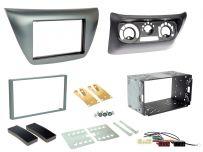 CTKMT13 Mitsubishi EVO, Lancer Double Din Car CD Stereo Fascia Complete Installation Fitting Kit