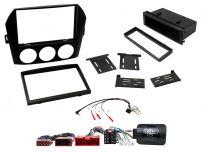 CTKMZ02 Mazda MX-5 Black Single/Double Car Stereo Fascia DIN Radio Installation Kit
