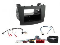CTKMZ06 Mazda 3 Non Amplified Black Single/Double DIN Radio Installation Kit