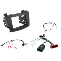 CTKMZ07 Mazda 3 (2010>) Double Din Fitting Kit Supplied Fascia Panel, Steering Wheel Control Interface, Antenna Adapter & Universal Patchlead