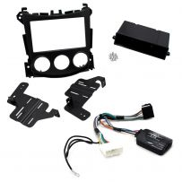 Double / Single Din Car Stereo Fascia Panel Fitting Kit for Nissan 370z 2009-16