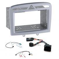 Peugeot 308 2007-13 Double Din Fascia Panel Car Stereo Fitting Kit